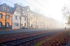 Herbst-Straße Lizenzfreie Stockbilder