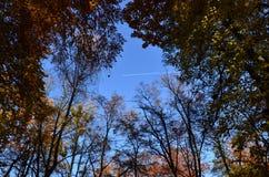 Herbst-Strahlen-Reise Lizenzfreies Stockbild