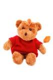 Herbst-Teddybär Stockfotografie