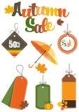 Herbst-Verkauf Lizenzfreie Stockbilder