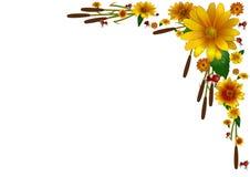Herbst-Vignette Lizenzfreies Stockbild