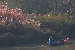 Herbst von Sumpfgebiet Lizenzfreies Stockfoto
