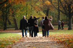 Herbst-Weg Lizenzfreies Stockfoto