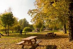 Herbst in Wien Lizenzfreies Stockbild