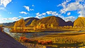 Herbst xinduqiao Stockbilder