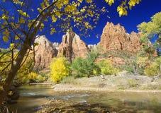 Herbst, Zion Stockbild