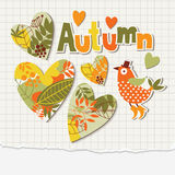 Herbstabbildung Lizenzfreies Stockfoto