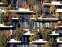 Herbstansicht von Bosco Verticale Stockfotografie