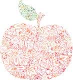 Herbstapfel Lizenzfreie Stockfotos