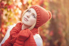 Herbstatmosphäre Stockfotos