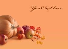 Herbstaufbau Lizenzfreies Stockbild