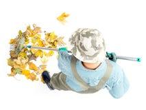 Herbstaufräumen Lizenzfreies Stockbild