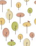Herbstbäume lizenzfreie abbildung
