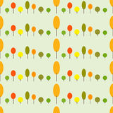 Herbstbaummuster Stockfotos