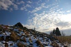 Herbstberge 3 Stockbild