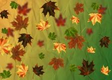 Herbstblathintergrund. Lizenzfreie Stockfotos