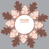 Herbstblatt backround Lizenzfreie Stockfotografie