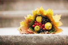 Herbstblumenstrauß Lizenzfreies Stockfoto