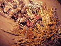 Herbstblumenstrauß Stockbilder