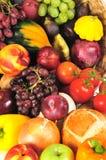 Herbsterzeugnishintergrund Stockfoto