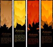 Herbstfahnen lizenzfreie abbildung