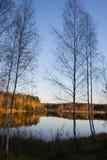 Herbstfluß Lizenzfreie Stockfotografie