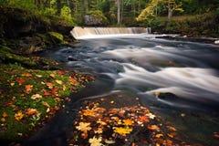 Herbstfluß Lizenzfreies Stockfoto