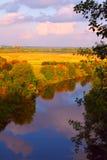 Herbstfluß Stockfotos