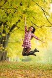 Herbstfrau lizenzfreie stockbilder