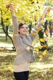 Herbstfreude lizenzfreies stockfoto