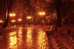 Herbstgarten Stockfoto