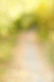 Herbstgasse in Aus-vonfokus bokeh Stockfotos