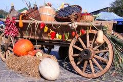 Herbstgemüse Stockfoto