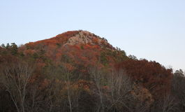 Herbstgipfel Stockfotografie