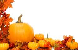 Herbstgrenze Lizenzfreies Stockfoto