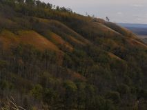 Herbsthügel Stockfotos