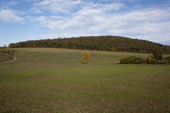 Herbsthügel Lizenzfreies Stockbild