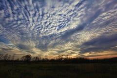 Herbsthimmel Stockfotografie