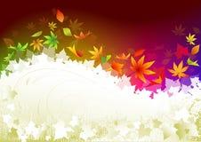 Herbsthintergrund. Lizenzfreie Stockbilder