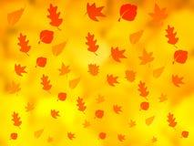 Herbsthintergrund lizenzfreies stockbild