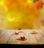 Herbsthintergrund Stockfoto