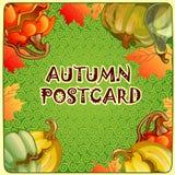 Herbsthintergrund für ein Plakat oder andere Postkarte vektor abbildung
