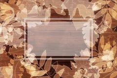 Herbsthintergrund mit copyspace Lizenzfreies Stockfoto