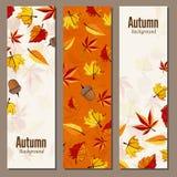 Herbsthintergrund-Vektorillustration lizenzfreie abbildung