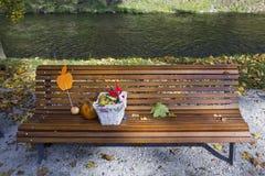 Herbstkürbis Lizenzfreies Stockbild