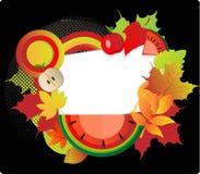 Herbstkarte Lizenzfreie Stockfotografie