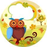 Herbstkarte Stockfoto