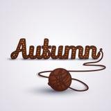 Herbstkonzept Knit Stockfotos