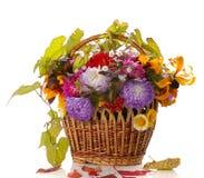 Herbstkorb Lizenzfreies Stockbild