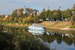 Herbstkreuzfahrt stockfoto